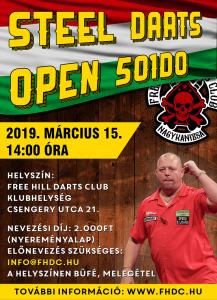 Steel Darts Open - 501DO @ Free Hill Darts Club Klubhelyiség