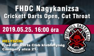Crickett kupa @ Free Hill Darts Club