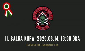 """II. Balka kupa, """"HALVE-IT"""" Steel Open @ Free HIll Darts Club"""