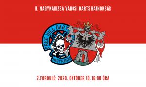 Nagykanizsa Városi Darts Bajnokság, 2. forduló @ Free Hill Darts Club